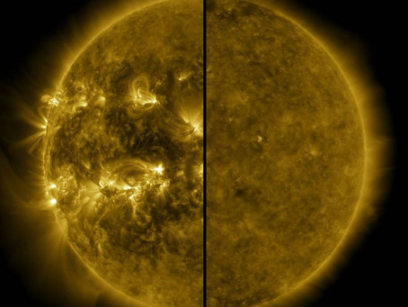 A maior tempestade solar dos últimos séculos