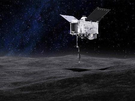 NASA TRANSMITIRÁ AO VIVO POUSO NO ASTEROIDE BENNU NESTA TERÇA-FEIRA. SAIBA COMO ACOMPANHAR