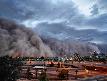10 anos da Tempestade de Areia histórica do Arizona