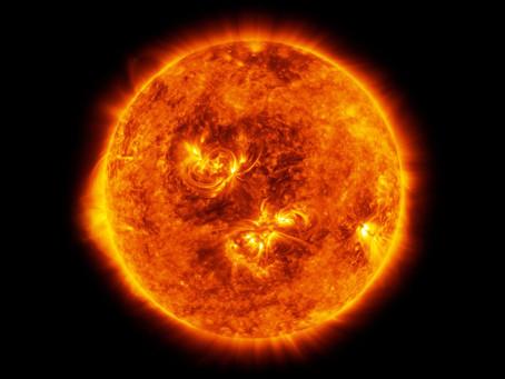 Primeira imagem em alta resolução de uma mancha solar
