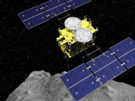 Sonda Japonesa Hayabusa 2 com amostras do asteroide Ryugu já está próxima da Terra