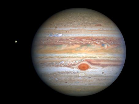 Como Júpiter não se tornou uma estrela?