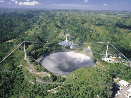 Perda inestimável: radiotelescópio de Arecibo desabou nesta manhã