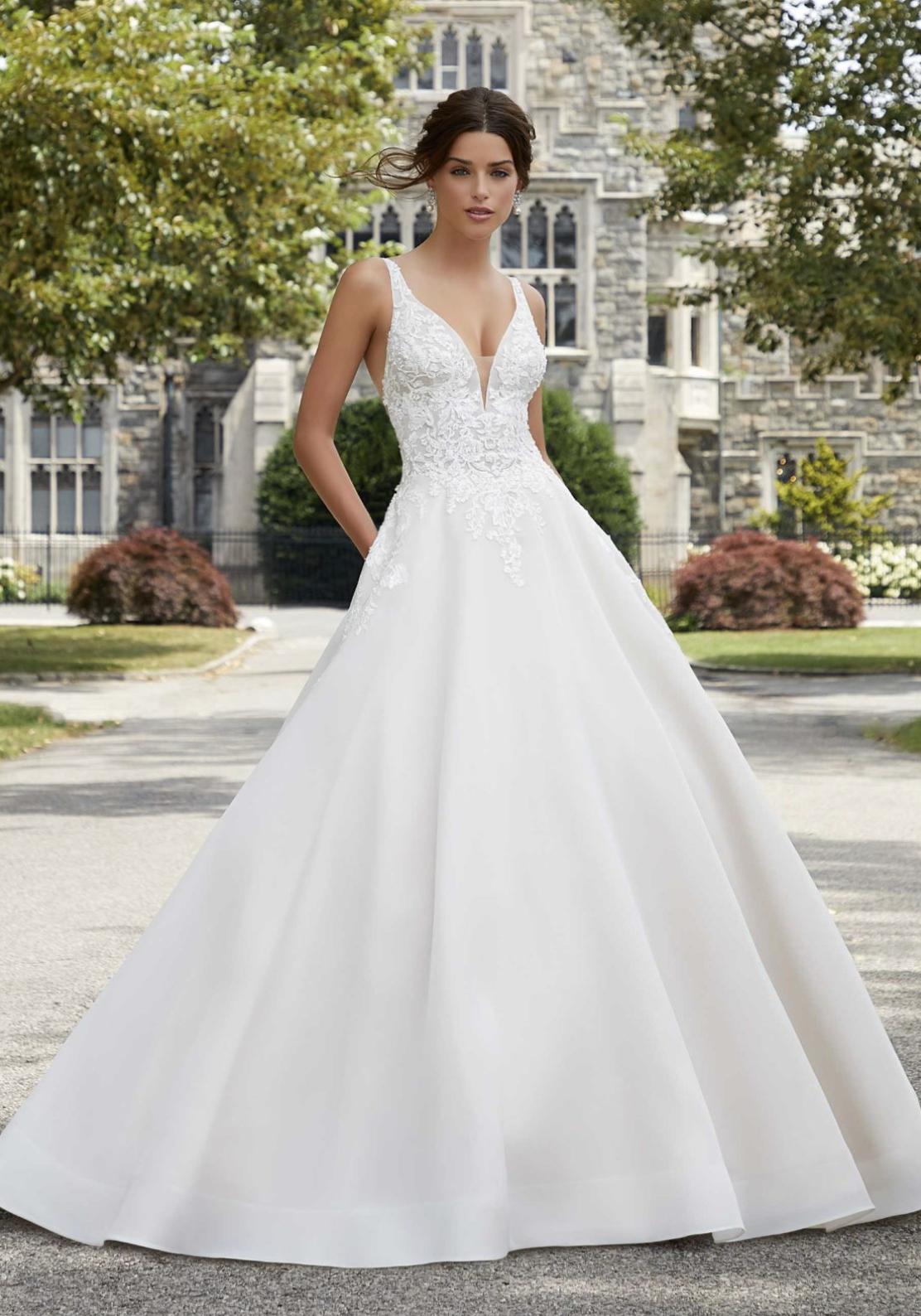 Sabrina Wedding Dress 5809