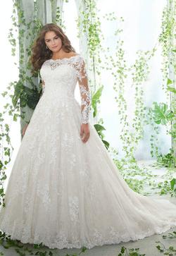 Patience Plus Size Wedding Dress 3258