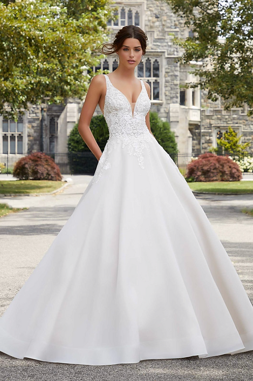 Morilee Sabrina Wedding Dress 5809
