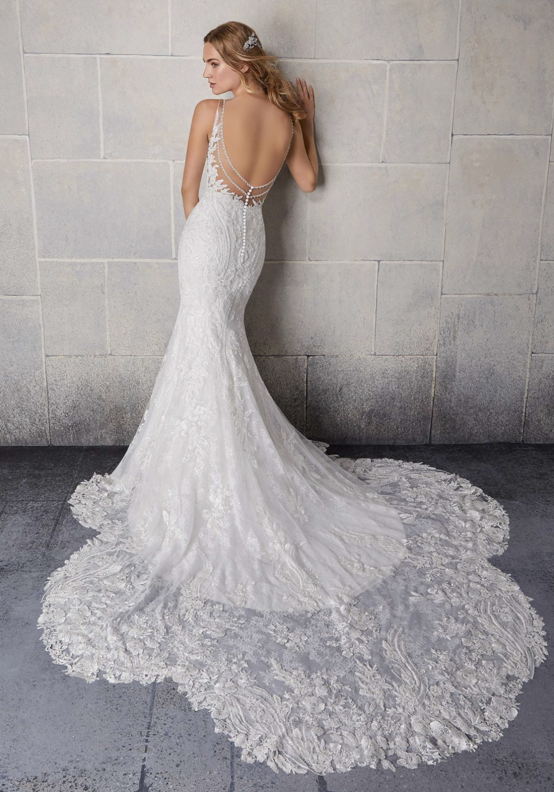 Stefani Wedding Dress 2123
