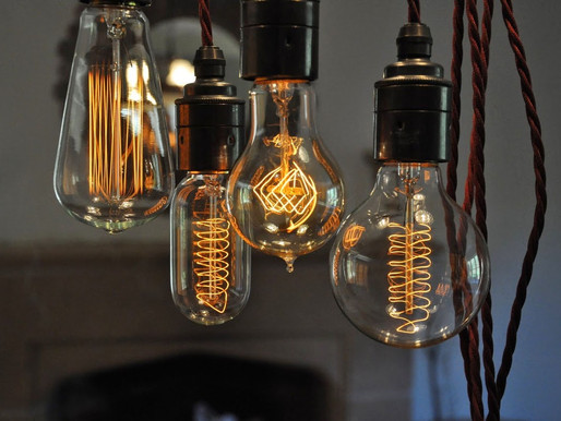 Vintage Lighting and Interior Design
