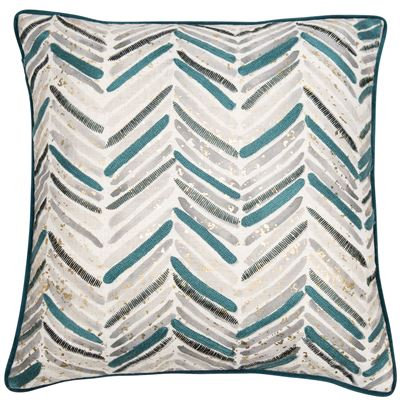 Marine Teal Cushion