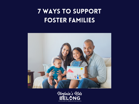 7 Ways to Support Foster Families