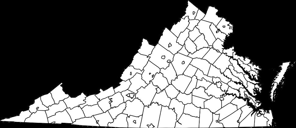 Map of Virginia Foster Care Crisis