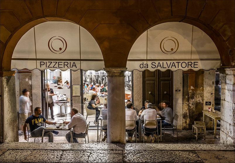 Esterno Pizzeria da Salvatore