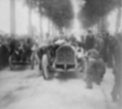 Race Paris - Vienna 1902 Replishing stop Marcellin on Darraq