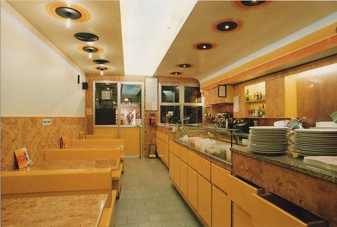 Intero sede storica Pizzeria da Salvatore
