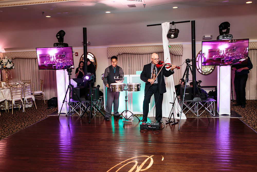 Nothing like a classical touch with the flair of percussions for a wedding. TWK Events is known for there great weddings as-well as the Latin wedding leaders in NJ, NTC & PA.