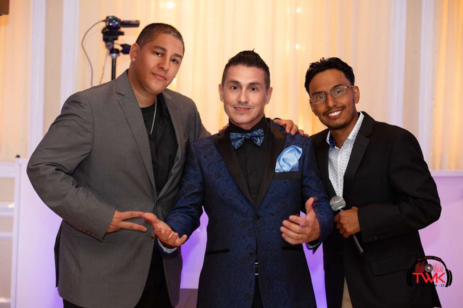 Wedding DJ & MC entertainers | TWK Events
