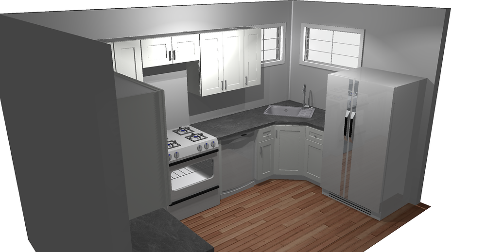 Fords NJ Kitchen remodel floor plan