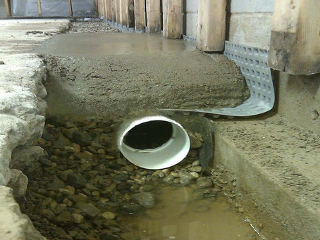 Water proof basement | Tristate remodelers.