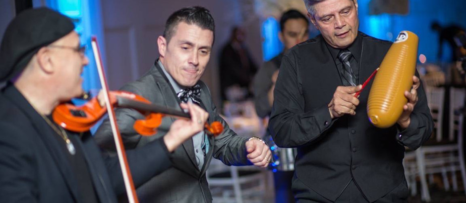NYC Latin wedding DJ & percussions : Garcia wedding