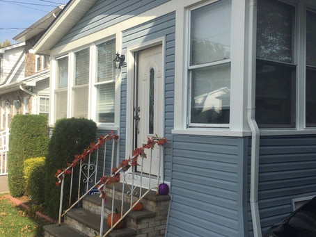 NJ siding installation - Vinyl siding.