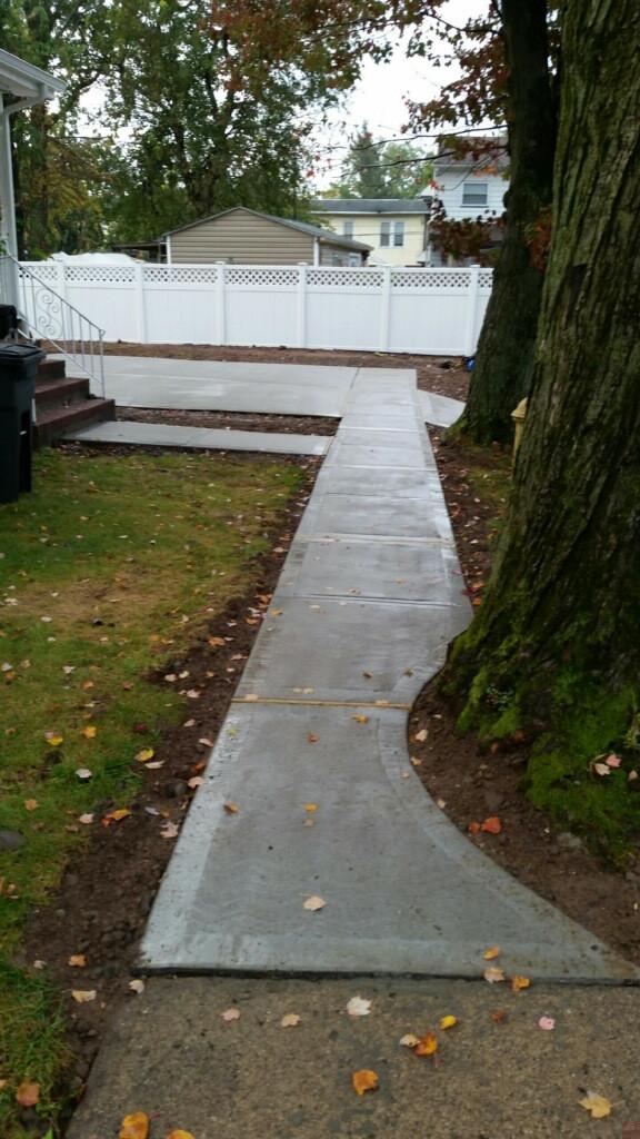 Sidewalk and concrete repairs in NJ