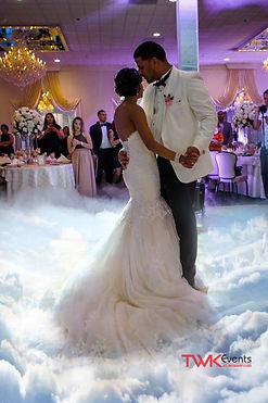 NJ wedding DJ - Dancing on the clouds - TWK Events