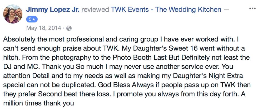 TWK Events Review | Woodbrodge NJ DJS