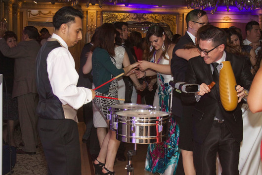 DJ and live percussionist