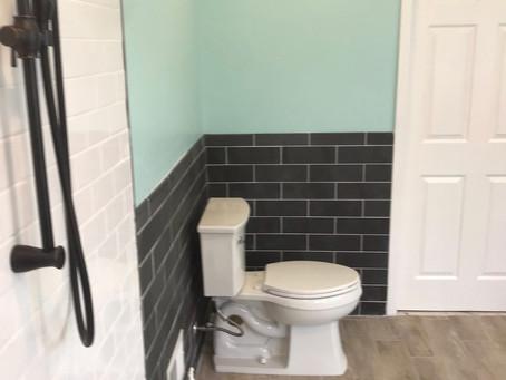 New bathroom | Small bathroom remodel.