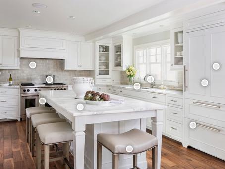 Tailored White Kitchen | Kitchen remodel job