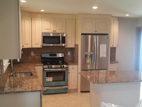 Kitchen remodel - Granite counters