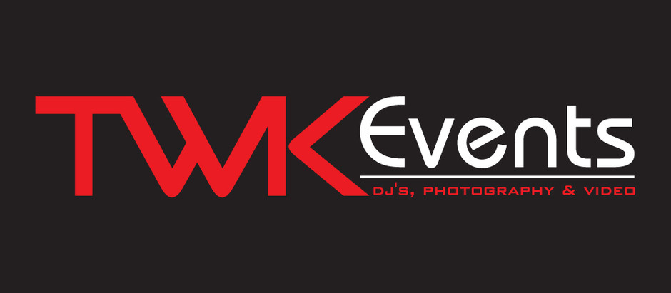 New branding campaign for TWK Events and logo.