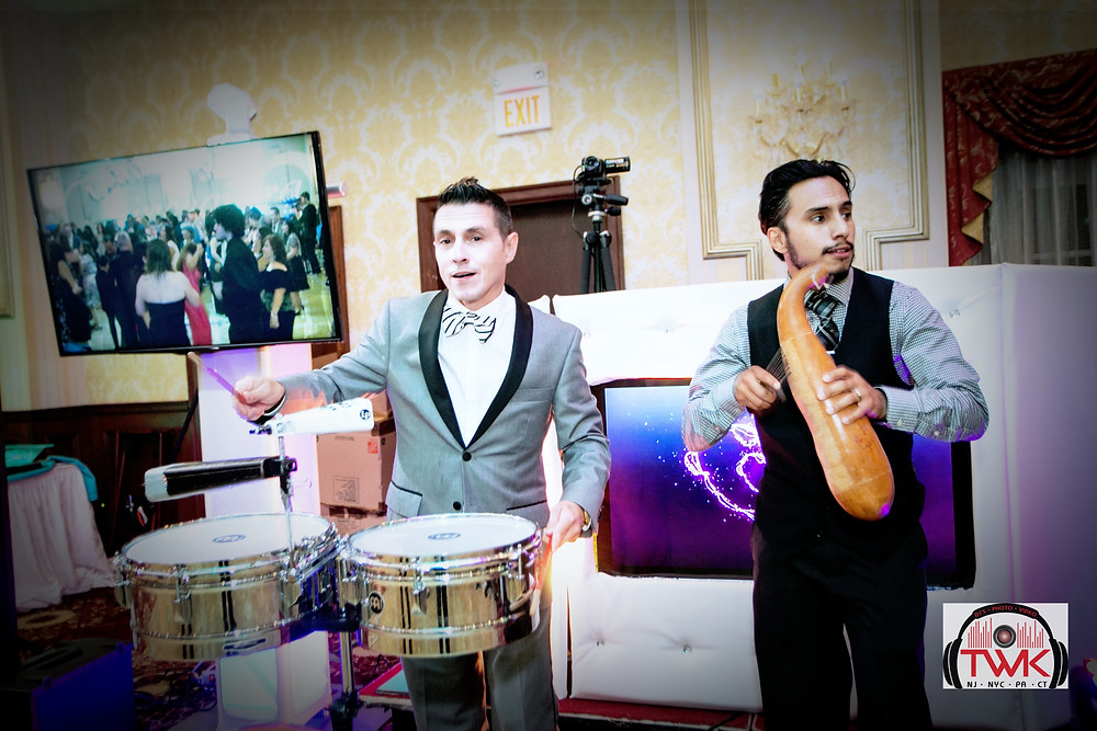 Latin wedding DJ | Spanish DJ & MC | TWK Events