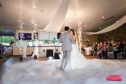 Spanish Wedding DJ | Sparklers w Clouds | TWK Events