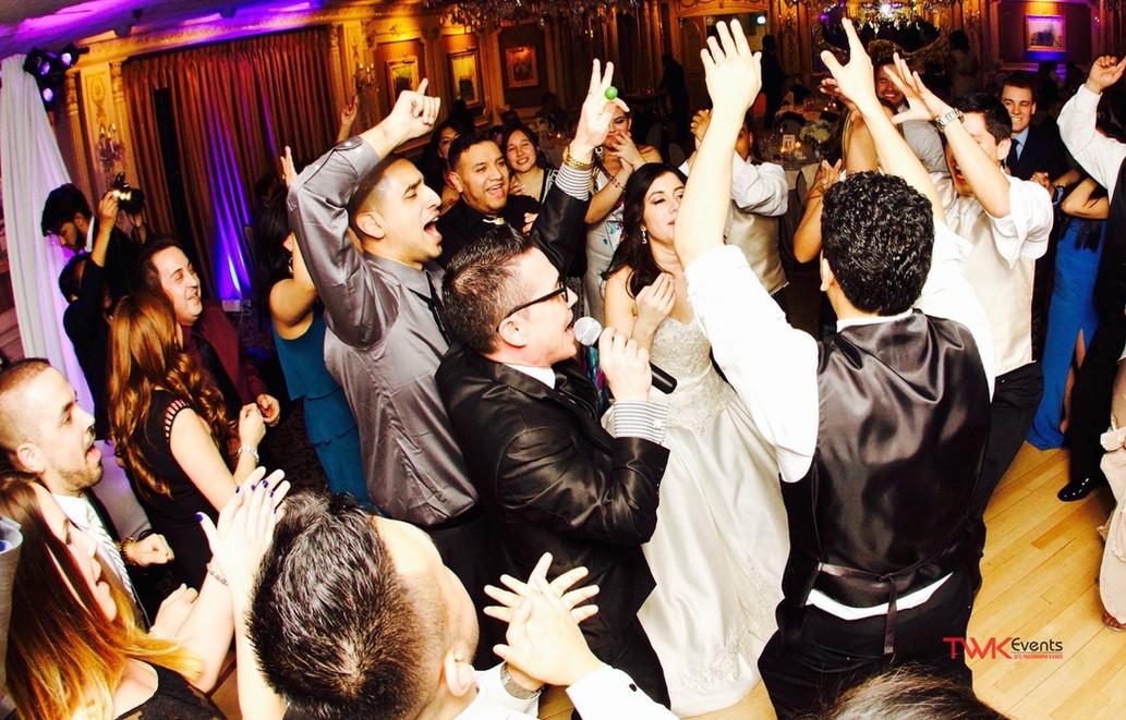 Latin Wedding DJ   MC interaction