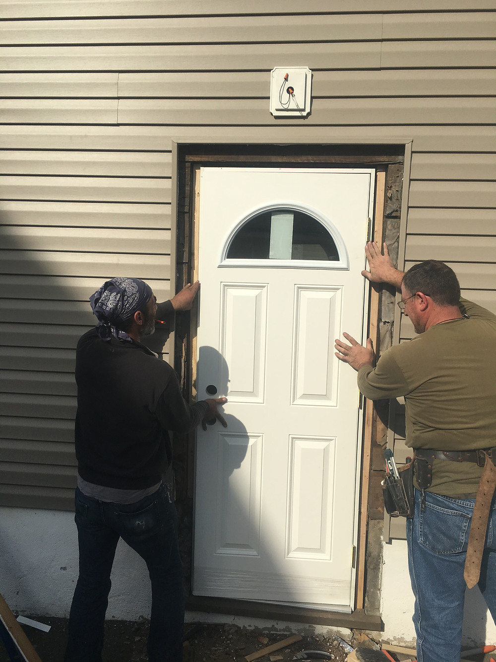 Entry Door - New install