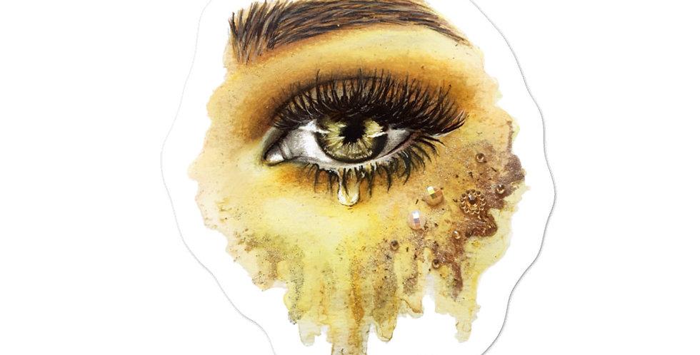 """light in your eyes"" sticker"