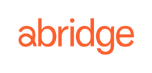 Abridge Logo (Orange, Transparent Backgr