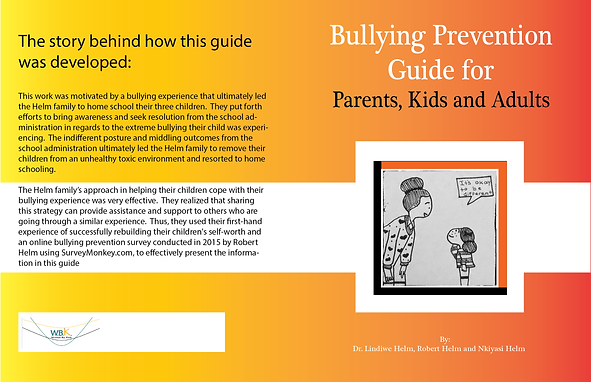 A comprehensive bullying prevention workbook for adults and child.