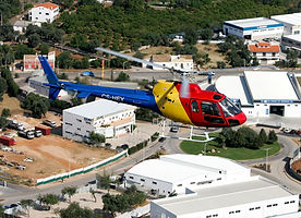 AS350 B2 Helicopter in Algarve (Portugal)