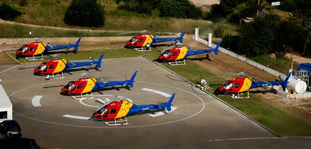 Helicopter Fleet in Algarve (Portugal)
