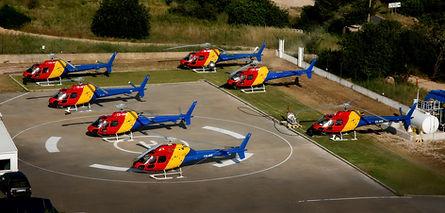 Frota de Helicópteros no Algarve (Portugal)