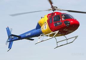 Escola de voo de helicóptero AS355 no Algarve (Portugal)