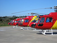AS350 and AS355 Helicopters in Algarve (Portugal)