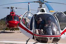 Treino de Pilotos de Helicóptero no Algarve (Portugal)