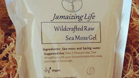 Wild-crafted Sea Moss Gel (available in Jamaica only)