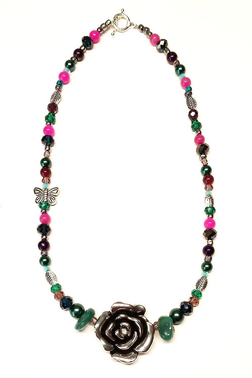 Rose Garden1 Necklace