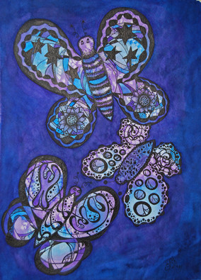 Blue/Purple Butterflies