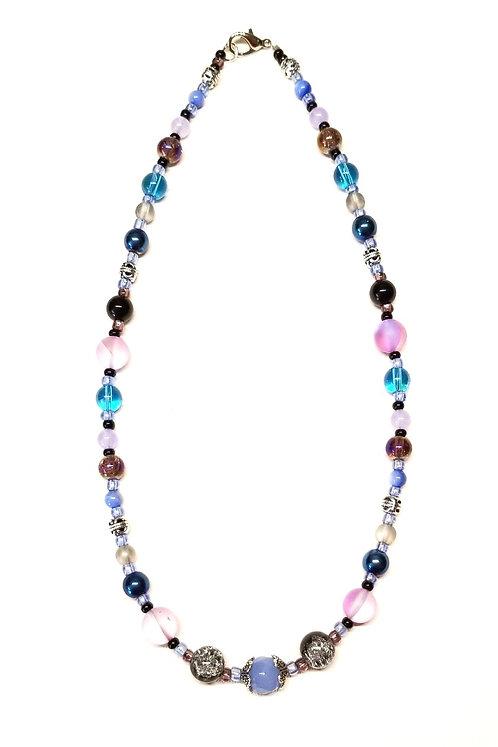Purple & Blue Sky1 Necklace