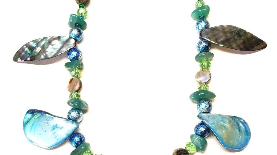 Blue-Green Sea Necklace